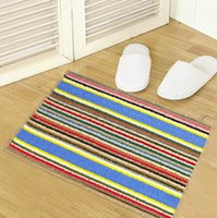 Wholesale Color fringes Front The bedroom door cushion Wear resisting Remove dust Moisture absorption Non slip carpet mat Door mat