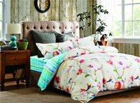 100% cotton sheet - SOFTINE Floral Mei Ying bedding sets comforter duvet covers bed sheet bedclothes set combed cotton