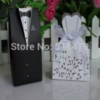 boxes for wedding dress - A Formal Affair Dress and Tuxedo Favor Boxes Bride and Groom Candy Boxes Wedding Favors For Guest
