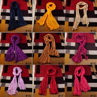 cotton shawls and scarves - Fashion spain scarf women colorful Cotton and linen fold long shawl scarves Loop Infinity Scarves via DHL
