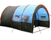 party tent - Cheap Outdoot Tents Outdoor Family Camping Hiking Party Large Tents Hall Room Waterproof Tunnel Tent Event