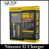 Wholesale Best Selling Nitecore I2 Universal Charger for Battery US EU AU UK Plug in Intellicharger Battery Charger