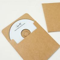 cd dvd sleeves - Kraft paper CD DVD sleeve envelopes cd packaging