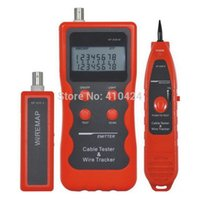 Wholesale NF Network USB Coaxial Lan BNC Cable Tester Telephone RJ45 RJ11 Wire Tracker order lt no track