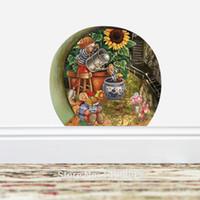 New Fashion Home Decor 3d Rat Hole Stickers muraux pour enfants Salle de séjour Stickers muraux Vinyl 3d Stickers Colorful Mouse Hole