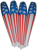 american inflatables - pieces inflatable stick stage props American flag baseball stick inflatable hammer
