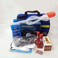 Wholesale 11 sets of car emergency kit vehicle multi function tool kit insurance Gift New Year gift