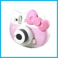 Wholesale New Fujifilm Instax Mini Hello Kitty Instant Camera INS MINI KIT Polaroid Refurbished