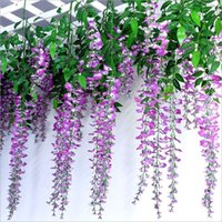 best pudding - The simulation flowers screen printing wisteria vine pudding series of home decoration wedding celebration decoration best selling