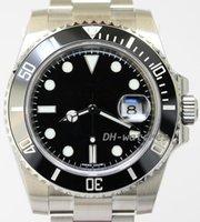 al por mayor bisel reloj de buceo-buceo mecánica de la marca de lujo de los hombres del reloj automático de los relojes de cristal de zafiro de cerámica Bisel 102