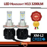 audi play - H13 LM Set W Set Hi Lo Beam Lamp CREE LED Car Headlight Fog Light No Need Ballasts Plug Play
