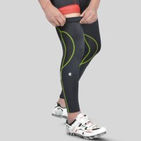 Wholesale New Cycling Legwarmers Outdoor Riding Beenwarmers Elasticity Breathable UV Protection Leggings Leg Sleeve CC4201
