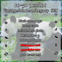 Wholesale Free Black Core Vintage Modern Legacy set magical proxy mtg card lion recommended gathering customized dual lands power