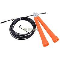 jump rope wholesale - M Durable Steel Wire Rope Skip Skipping Adjustable Jump Ropes Crossfit B2 SV004466