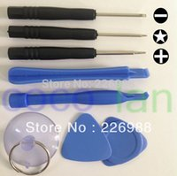 Wholesale 500set in opening tools kit set disassemble repair remove tools for iPhone s s iPad iPod HTC PSP