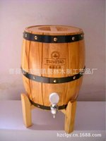Wholesale Factory Outlet Bucket bar supplies beer keg cask wood cask beer kegs stainless steel liner