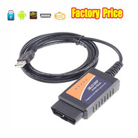Wholesale Auto Diagnostic Scan Tool ELM USB Version V1 ELM327 Interface USB OBD2 OBDII CAN BUS Plastic