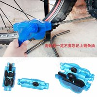 Wholesale Bicycle Chain Cleaner Cycling Bike Machine Brushes Scrubber Wash Tool Mountaineer Bicycle Chain Cleaner Kits Free DHL Factory Direct