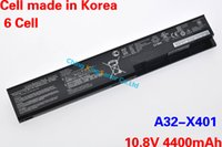 Wholesale Korea Cell Original Quality New Laptop Battery for ASUS A32 X401 A31 X401 X301 X401 X501 X301A X401A X501A X401U X501U mAh