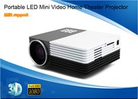 Wholesale Portable LED Mini Video P Home Theater Projector Full HD Proyector Beamer Projetor lumen Projector