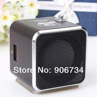 Wholesale Color Black Portable Mini Digital Speaker TD V26 Micro SD TF USB FM MP3