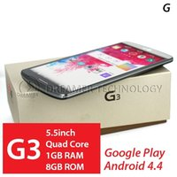 Wholesale HDC Note G3 G inch MTK6582 Quad Core HD Android GB RAM GB ROM D855 GPS MP Camera G Unlocked Smart Mobile Cell Phone