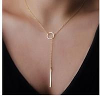 Wholesale Hot Sale Women Fashion Necklaces Big Girl Jewelry Lady Necklaces Womne Eyelet Pendants EF1B