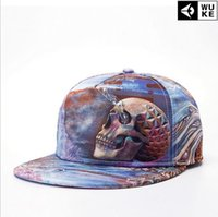 Wholesale 2016 fashion snapback brand cap D thermal hop baseball caps skull pattern Supreme panel hats bone aba reta casquette polo dgk
