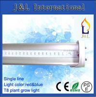 Wholesale FedEX Free W mm T8 LED Plant growth lamp t8 tube light SMD2835 led PC AC85 V
