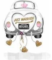 beautiful lantern - Wedding Decoration balloons Married Car Balloons Factory Price Birthday Party Decorations Toy For Children Kids Gift Free Beautiful Balloons