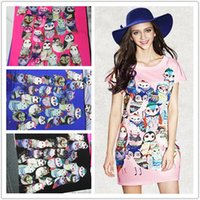 Wholesale Advanced digital printing red white and blue floral cotton space air layer fashion fabric m