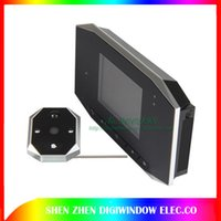 Wholesale Night vision Video Door Viewer camera with LCD Motion Detection