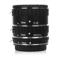 Wholesale Corda Hot Sale Real D900 Lens Cap Holder Electronic Metal Mount Ttl Auto Focus Af Macro Extension Tube Ring Ef ef s Drop Shipping