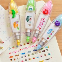Wholesale 2 korean cute correction tape kawaii stationery for student school supplies DIY Scrapbooking Stickers