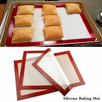 dough - 1 Piece Non Stick Silicone Pastry Bakeware Baking Mat Tray Oven Dough Rolling Liner Sheet