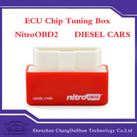 Wholesale 2016 New Arrival Diesel NitroOBD2 Chip Tuning Box elm327 OBD2 Plug and Drive Nitro OBD2 Interface for diesel