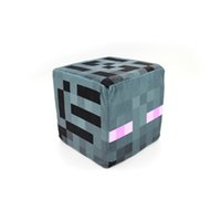 Wholesale quot New Arrivals quot Minecraft Cube plush throw pillow cm cm cm With fabric tag OPP Bag quot Great Quality quot In stock