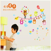 bear country - Wall stickers home decoration Children s cartoon bear photo frame photo wall Creative Home bedroom Kindergarten classroom wall sticker AY702