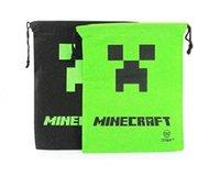 draw string bag - 20pcs New Minecraft Bag Backpack Creeper Draw String Sling Bag Gift Bag High Quality