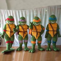 Wholesale Cheap High Quality Teenage Mutant Ninja Turtle Mascot Costume Adult Cartoon Character Costume In Stock