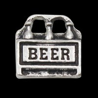 beer drinking accessories - New Design Beer Stamped Drink Alloy Charms Vintage Wire Bangle Accessories AAC010