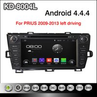 android dvd drive - Pure Android inch Capacitive Touchscreen Car DVD Player For Toyota Prius Left Driving