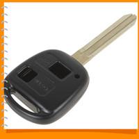 toyota car remote key - Portable Toyota Button Car Remote Key Shell Case Replacement for Corolla RAV4 PRADO YARIS Dropship