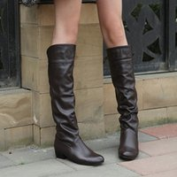 Low Heel Dress Boots For Women Price Comparison | Buy Cheapest Low ...
