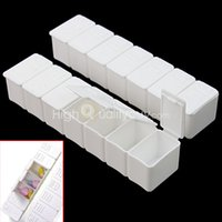 Cheap 2X 7 Day Weekly Tablet Pill Organizer Medicine Box Case Holder Container Useful