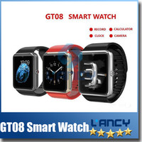 Spanish apple windows mobile - 2015 New Smart Bluetooth Watch Aiwatch A8 GT08 Smart watches SIM Intelligent mobile phone watch For android ios win8