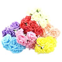 Wholesale Wedding Decorations Simulation Flowers Wedding Decorations Simulation Flowers Silk Flower Buds Manufacturer High Quality Fake Diamond Rose