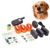 1000m dog shock collar - Remote Control dog training coller dog collar electric shock device treatment ring stop Dog Training Collar