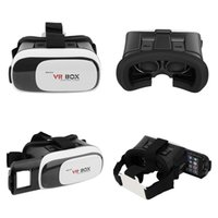 Wholesale NEW Google cardboard VR BOX II Version VR Virtual Reality D Glasses For inch