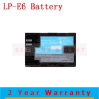 A batery pack - High Quality LP E6 LPE6 lp e6 digital Camera Li ion batteries Battery batery pack For Canon EOS D2 D3 D D D D LC E6E BC8